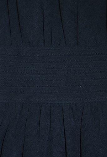 Peach Couture - Robe - Trapèze - Femme Bleu Marine