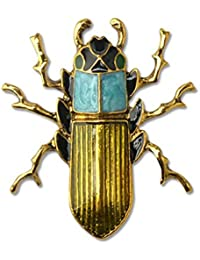 Ausing Insect Brooches Women Kids Colored Insects Brooch For Jewelry Hijab Scarf Pins