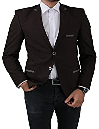 Daniel Gallotti Slim Fit Herren Sakko In Braun