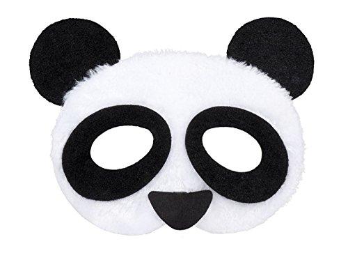 Kostüm Bär Halb - Boland 56721 Maske Panda Plüsch, One Size