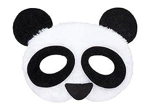 Boland 56721Máscara Panda de Peluche, Disfraz, One Size