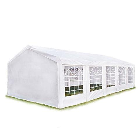 Tonnelle 8 X 4 - Tente Barnum de Réception 4x10 m PE