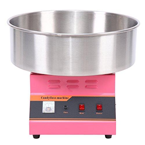 Iglobalbuy 1300W Zuckerwatte Maschine Fairy Floss Maker Party Spaß Ertrag 2 / min Home Kommerzielle Nutzung