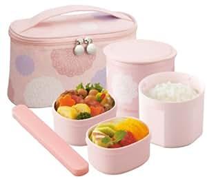 Zojirushi Thermal Lunch Box BENTO BAKO | SZ-GC02-PD Pink (Japan Import) by Zojirushi