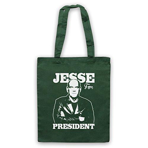 Jesse Ventura For President Umhangetaschen Dunkelgrun