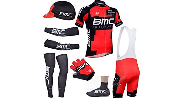 BMC 2015 cycling clothing includes 2015 bike shorts with mesh warms muscles  and half finger gloves cycling as photos (XXXL)  Amazon.co.uk  Sports    Outdoors d0b42f006