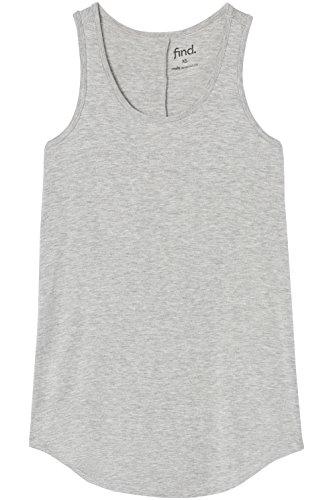 FIND Damen Tanktop Grau (Grey), 46 (Herstellergröße: XXX-Large)