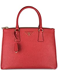 ed49c35a19b09 Prada Handtasche Damen Tasche Schultertasche Messenger Bag galleria lux Rot