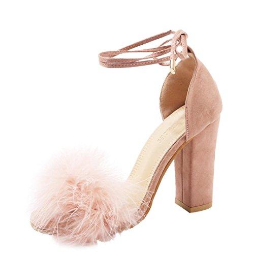 Covermason Zapatos Sandalias mujer verano 2018