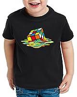 style3 Sheldon Magic Cube T-Shirt for Kids