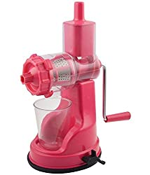 Bright fruit & Vegetable Juicer Pink [BE_05 Pink ]