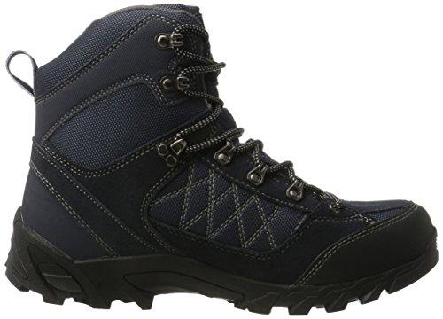 ConWay Herren 607418 Trekking-& Wanderstiefel Blau (Navy/Grau)