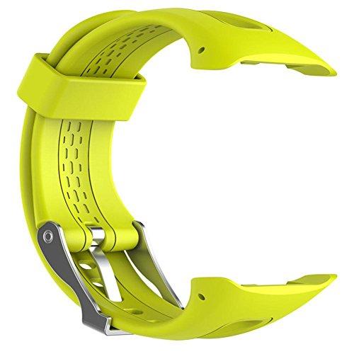 Sportuhr Silikonarmband für Garmin Forerunner 10 15 GPS Laufuhr klein/groß mit Werkzeug