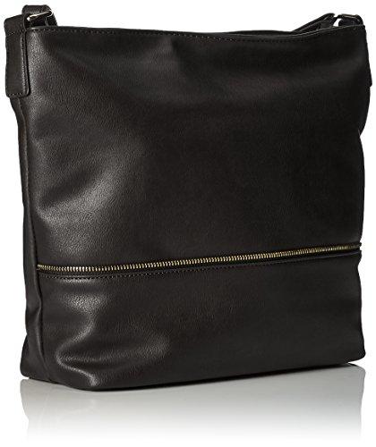 Handbag - Leni, Borse a tracolla Donna Nero (Schwarz)