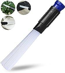 innoGadgets Staubsauger-Aufsatz Dust Master | Staubsaugerbürste für schwer erreichbare Stellen | 30 flexible Röhrchen für jeden Winkel | Perfekt für Tastaturen, Lüftungsschlitze - Blau/Schwarz