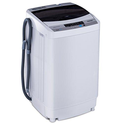 COSTWAY Waschmaschine - Waschmaschine Toplader