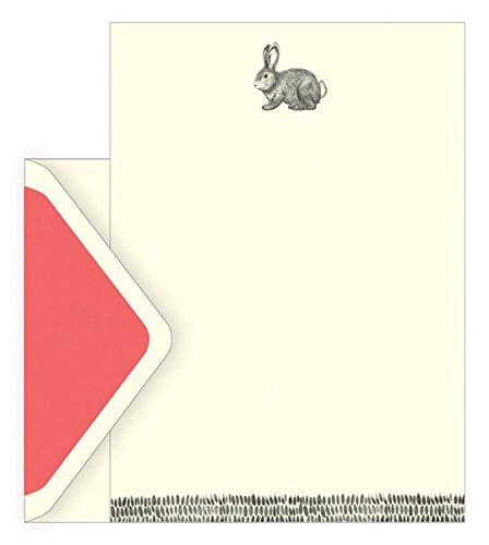 The art file boxed notecards–legato e dash–set di 10fogli di carta intestata ,10mantenimento e 10buste oro in una scatola