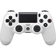 Sony - Dualshock 4 V2 Mando Inalámbrico, Color Blanco (Glacier White)  (PS4)