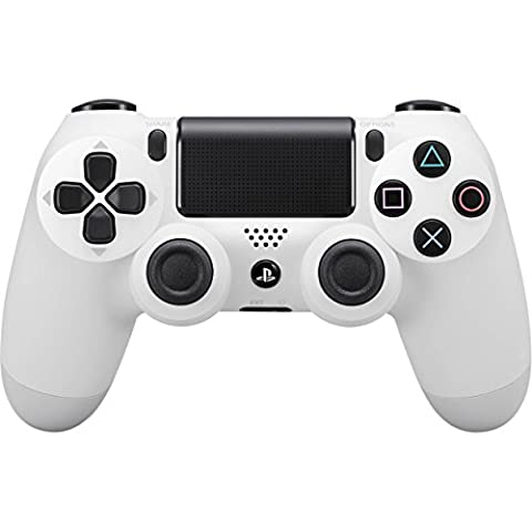 Sony - DualShock 4 V2 Manette, Glacier White (PS4) [PlayStation 4]