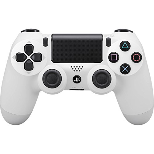Sony - Dualshock 4 V2 Mando Inalámbrico, Color Blanco...
