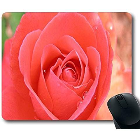 flowers-tropicana-pink-rose-non-slip-rubber-gaming-mouse-pad-size-9-inch220mm-x-7-inch180mm-x-1-83mm