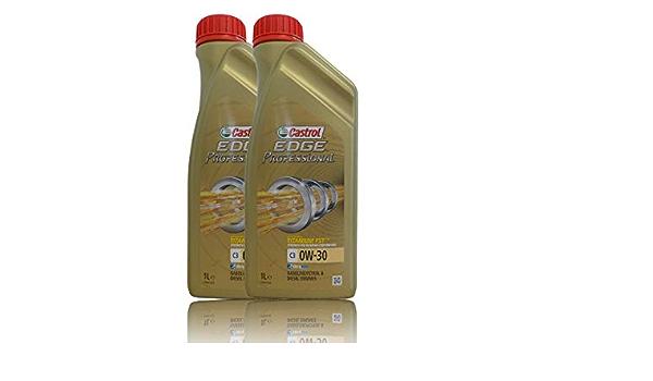 Castrol Edge 0w 30 C3 Fully Synthetic 229 51 505 00 Ll04 2l Auto