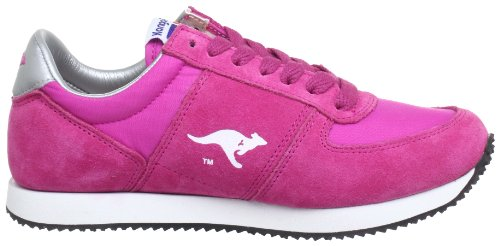 Kangaroos Combat, Baskets mode homme Rose (Magenta 680)