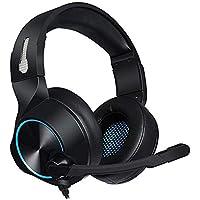 tingtin Gaming Headset Gaming Headset Gamer Audio en estéreo Auricular Bass con micrófono 3.5mm, B