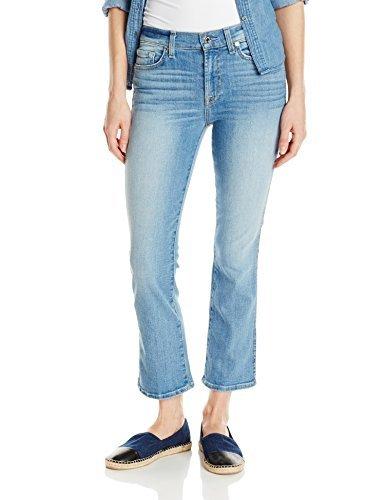 Coronado Springs (7 For All Mankind Women's Cropped Boot Jean in Stretch Coronado Springs, 24)