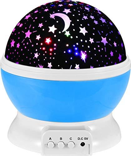 KADONNY LED Nachtlicht Nachttischlampe USB Wiederaufladbar Tischlampe, Kind Nachttischlampe,Nachtlicht Projektor für Schlafzimmer,Sternenlicht Nachtlicht Lampe,für Schlafzimmer Kinder Geschenk