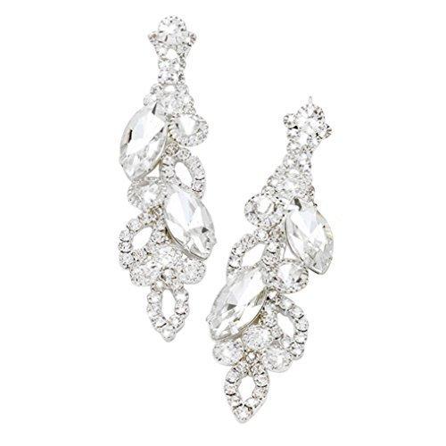 rosemarie-kollektionen-damen-sparkling-marquise-crystal-baumeln-ohrringe