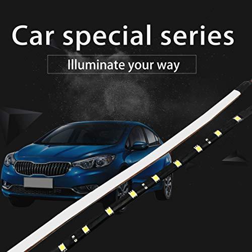 30cm-12V-15-LED-Auto-Moto-Auto-striscia-impermeabile-flessibile-della-lampada-chiara-flessibile-di-veicoli-Led-Stripe-luci-correnti-di-giorno