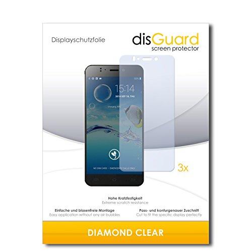 3 x disGuard® Schutzfolie Jiayu S2 Advanced Bildschirmschutz Folie