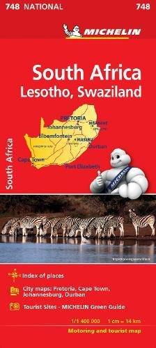 Mapa National Sudafrica (Mapas National Michelin)