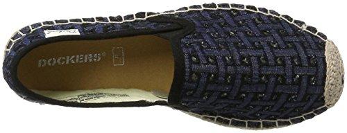 Dockers by Gerli Damen 40ya202-700601 Espadrilles Blau (Blau/Schwarz 601)