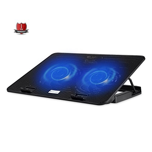 Lapcare Chillmate Ergonomic Laptop Cooling Pad Laptop Cooler Stand