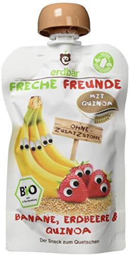 """Freche Freunde Bio Quetschie """"Banane, Erdbeere & Quinoa"""""""