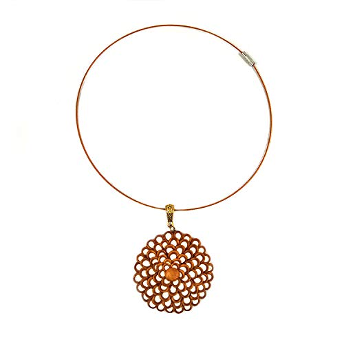 India Meets India Gold Halskette Clay Jewelry leicht ()