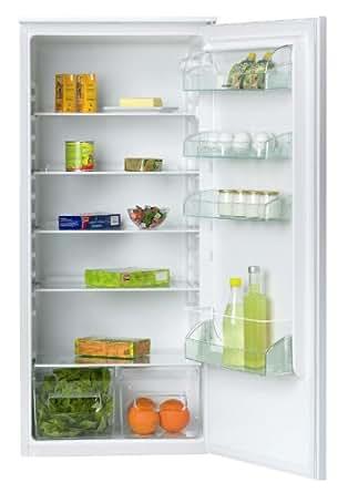 Sauter SLA222 Réfrigérateur 1 porte intégrable 215L Classe: A+ Blanc