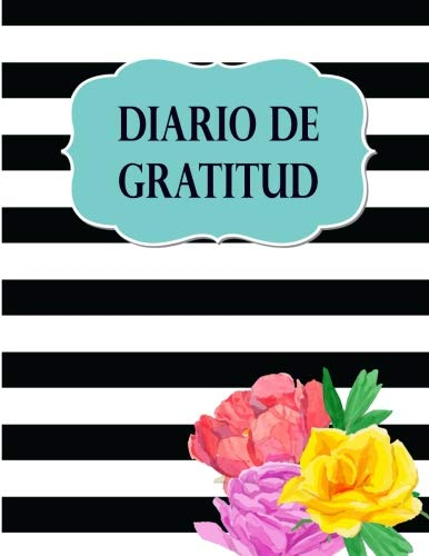 Diario de Gratitud: Libreta de Notas para escribir tus pensamientos de gratitud, 8.5 x 11 (21.59 x 27.94 cm) cuaderno rayado con 200 paginas (100 hojas)