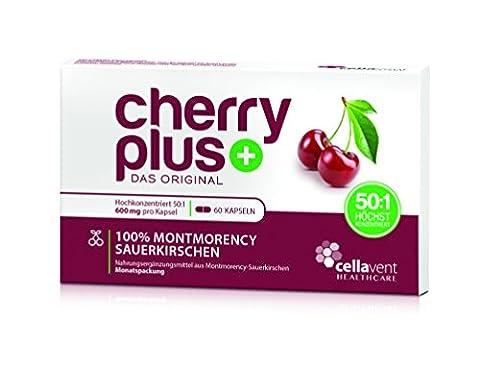 Cellavent Healthcare Cherry PLUS - Das Original: sirop aux extraits