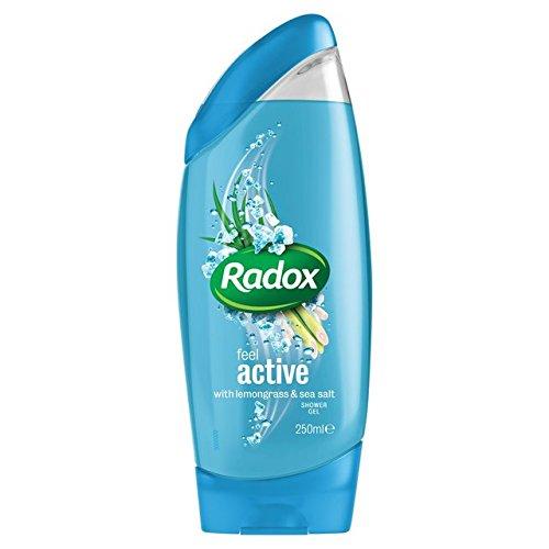Radox 2 en 1 Douche & Shampoing citronnelle et sel de mer 250ml
