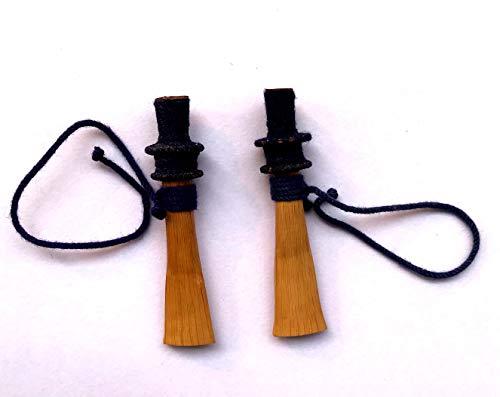 Shehnai und Nadawaram Getestete Blätter, 2 Stück