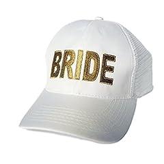 """Idea Regalo - Team Hen, cappellino con la scritta """"Bride"""" (taglia unica)"""