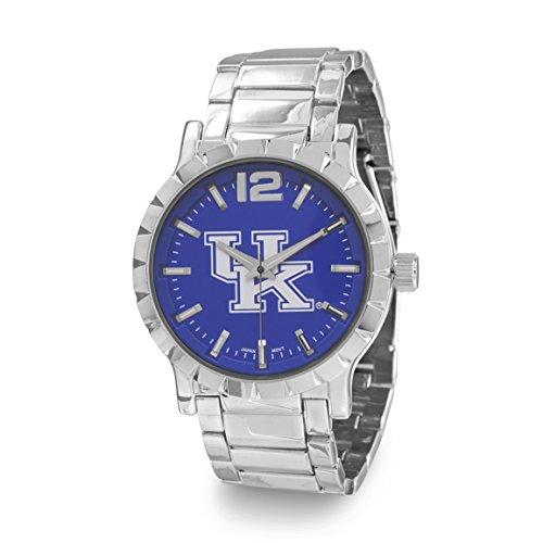 Bashy Fashion Universität von Kentucky Blau und Weiß Herren Fashion Armbanduhr w9317-ky