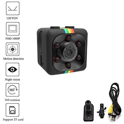 Luxury-uk HD 1080P Mini Spy Camera Wireless versteckte Kamera Home Security Kameras Nachtsicht drinnen Büro Auto Video Recorder Motion Activated Monitoring Aufnahmegerät