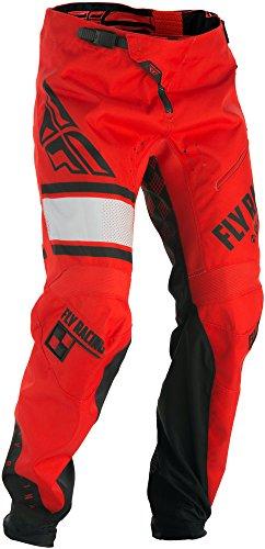 Fly Racing Kinetic Hose Kids MTB/BMX, rot-schwarz, 26, Kinder Dirtbike Dirtjump Mountainbike Pant