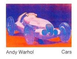 "Kunstdruck / Poster: Andy Warhol ""Cars, Formula - Car W 125, Bj. 1937"" - hochwertiger Druck, Bild, Kunstposter, 90x70 cm"