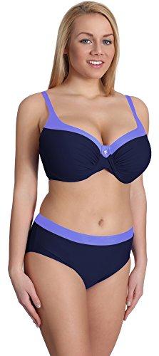 Merry Style Damen Bikini Set P190-65TSG (Muster-12, Cup 80 G/Unterteil 40)