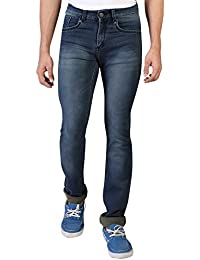 Denim Vistara Men's Blue Slim Fit Jeans